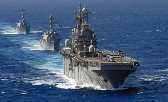 Russia holds snap military drills in Caspian Sea