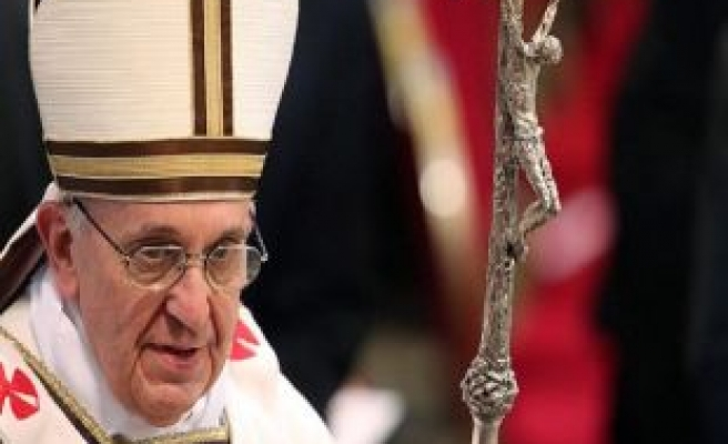 Pope calls for calm in Venezuela as both sides march