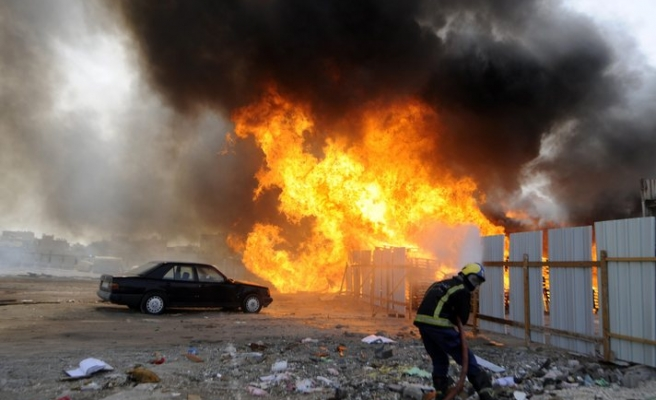 Bahrain says foreigners behind blast killed three police