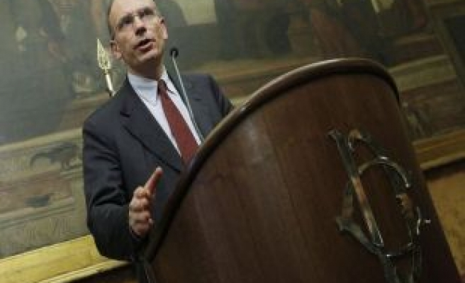 Italy's Letta launches government with call for growth