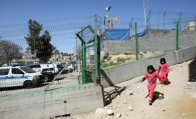 Israel stops Palestinian building in West Bank's Area C