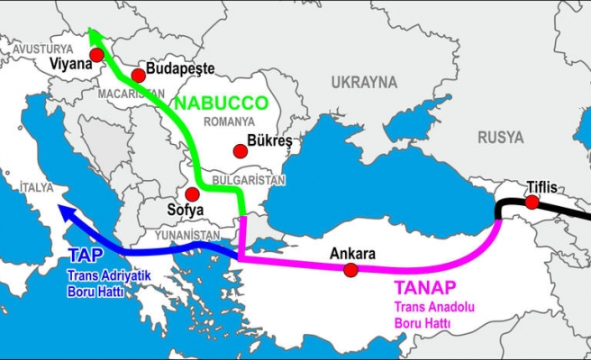 Turkey to become energy hub with 'TANAP'
