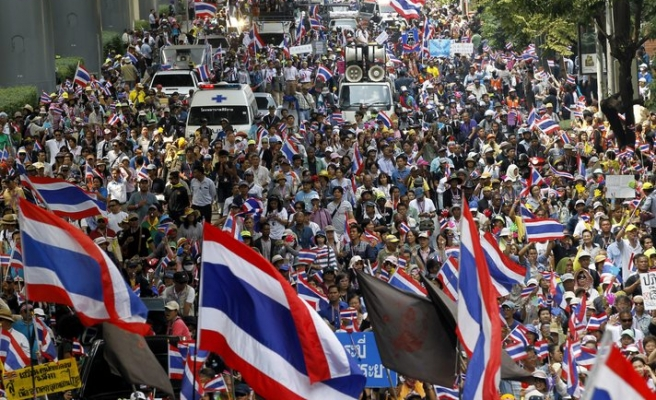 Thai minister rejects proposal for talks from protest leader