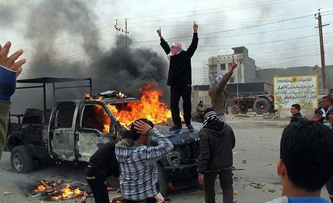 Clashes flare up in Iraq's Anbar, 11 dead