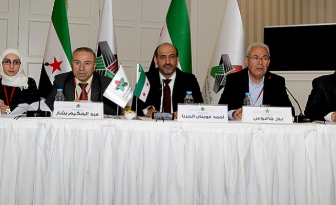 Syrian opposition to declare Geneva 2 decision