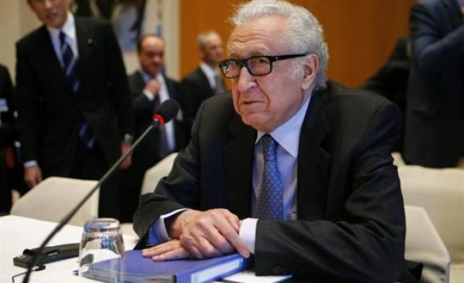Brahimi sets out next steps in Syria talks