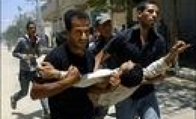 25 Palestinians die after the attacks