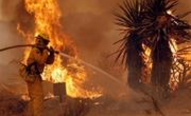 Calif. officials fear fires could merge