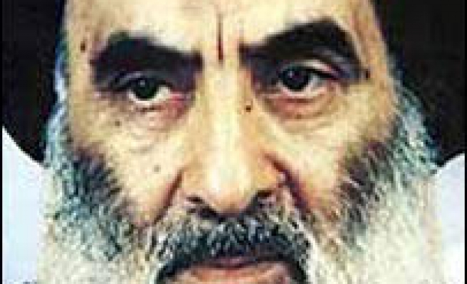 Sistani calls for end to violence
