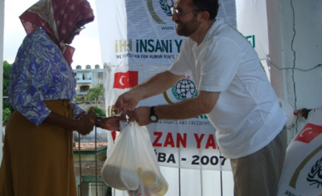Turkey is world's third most generous aid donor