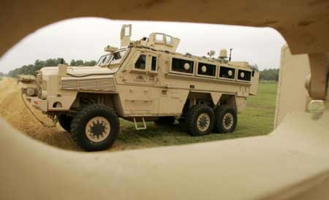 $356 million bid for Turkish army vehicle maker