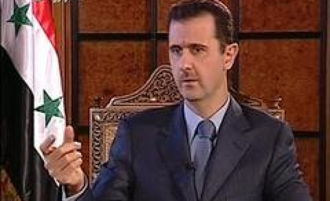 Al-Assad: Khaddam is involved in a plot against Syria