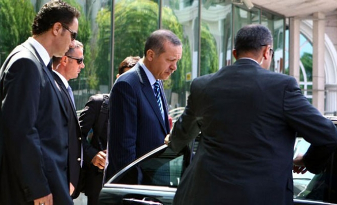 Turkish PM Erdogan removes 23 guards from his office