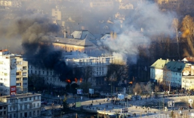 Bosnia fires security minister over February unrest