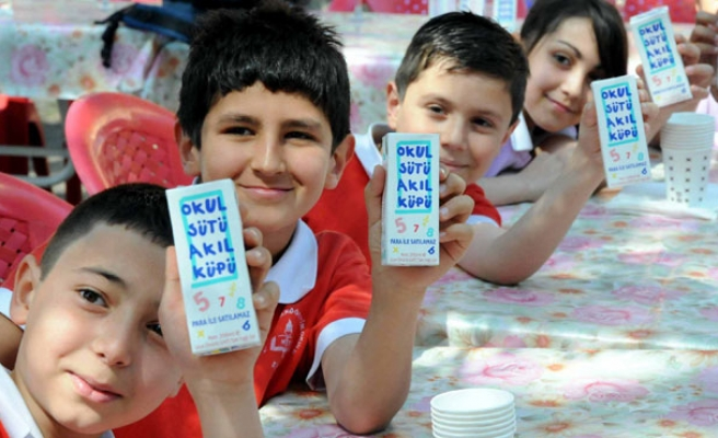 Millions of Turkish students to receive free milk