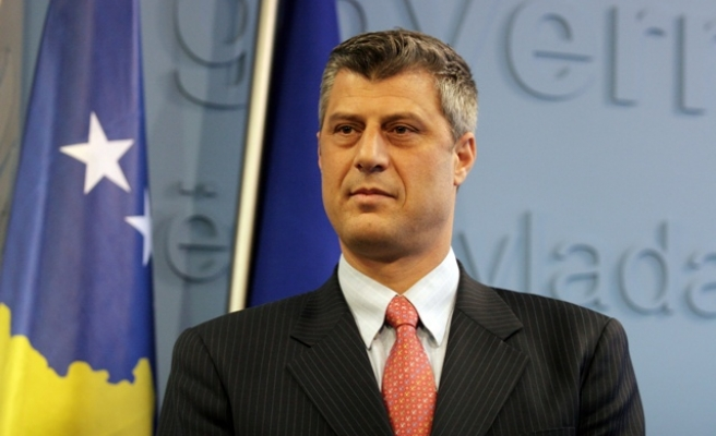 Kosovo PM Thaci calls for international recognition
