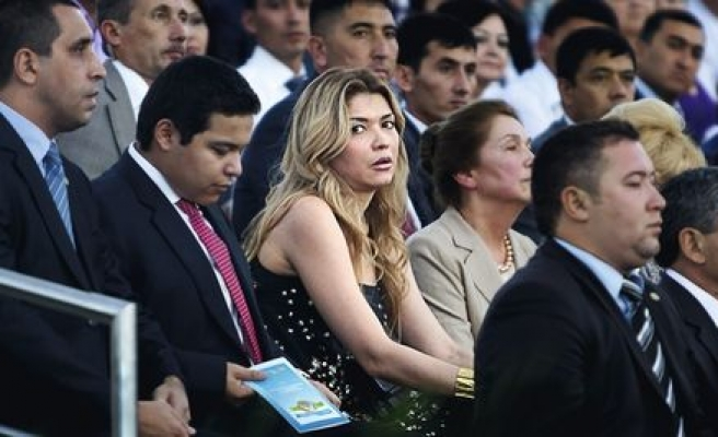 Uzbek president's daughter in graft scandal