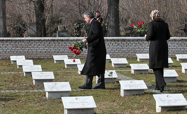 Turkey's president visits Ottoman tombs in Hungary