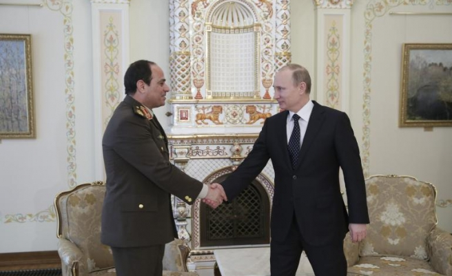 Russian military delegation arrives in Egypt