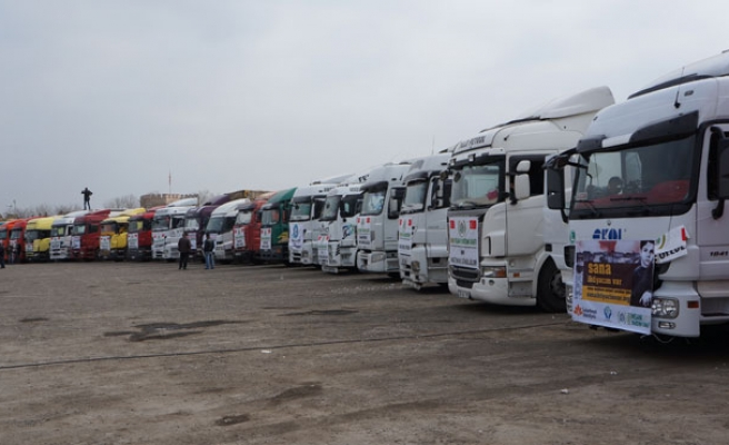 Turkish charity sends 229 trucks of aid to Syria