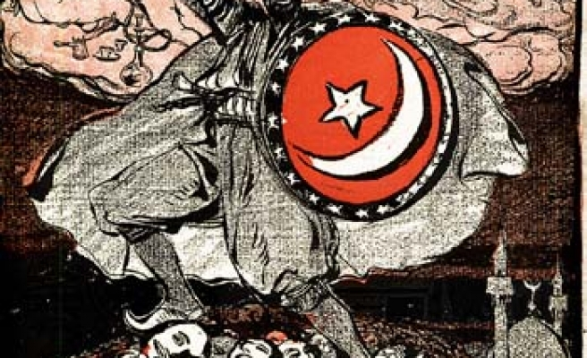 'The Turkish People and Islam' as depicted in a French caricature
