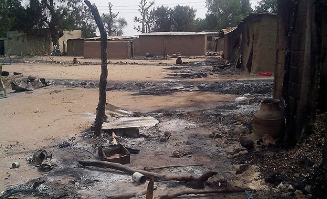 Blasts rock Nigeria's Maiduguri town, 35 killed