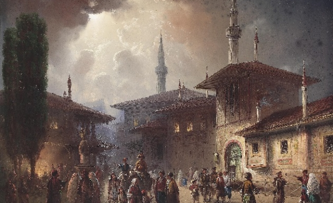 How did Russians conquer Crimea from the Muslim Tatars?