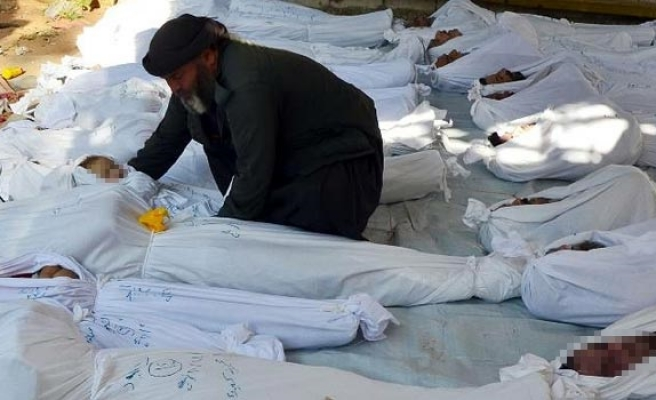UN reports condemns Syrian regime for chemical attacks