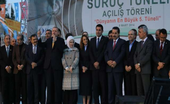 Turkey's biggest water tunnel completed