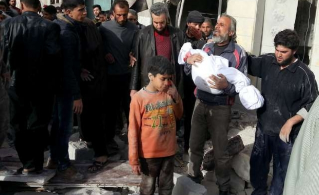 Syrian government committing war crimes, must be referred to ICC - UN