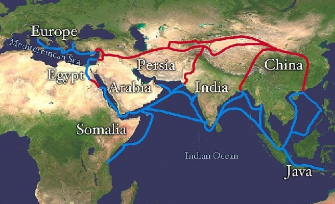China's Silk Road challenges U.S. dominance in Asia