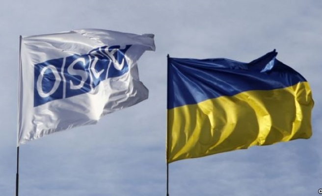 OSCE says its drone fired at in Ukraine, US blames rebels