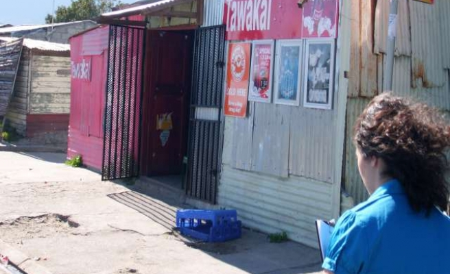 South Africa's 'spaza' shops suffer as big retail rolls in