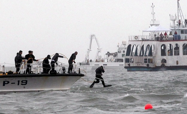 First sign of S.Korea ferry disaster was call from a student- UPDATED