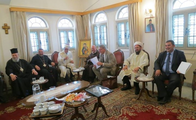 Cyprus religious leaders meet to discuss problems