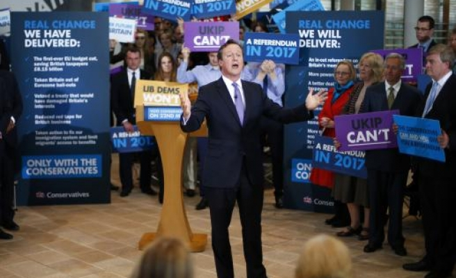 Cameron says won't quit if Scotland votes for independence