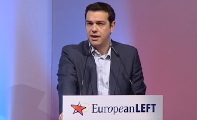 Tsipras says ECB cannot shut Greece out of stimulus