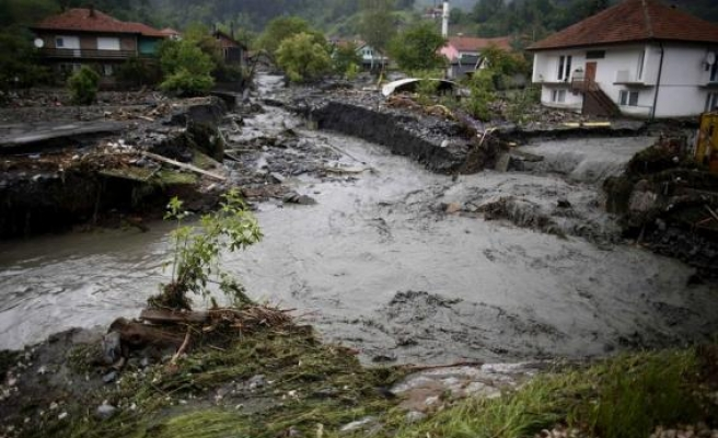 Bosnia hit by fresh flooding, two people missing