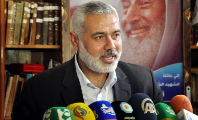 Hamas leader in Cairo for talks with Egyptian officials