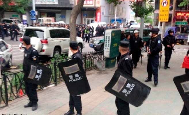 China jails nine in East Turkestan for 'terror offences'