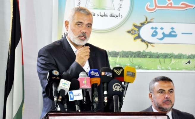 Haniyeh vows anti-occupation rallies in W. Bank, abroad