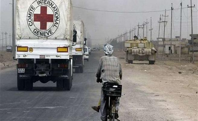 Coalition preventing Red Cross from giving aid