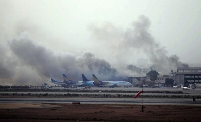 Taliban launch deadly attack on high-profile Pakistan airport- UPDATED
