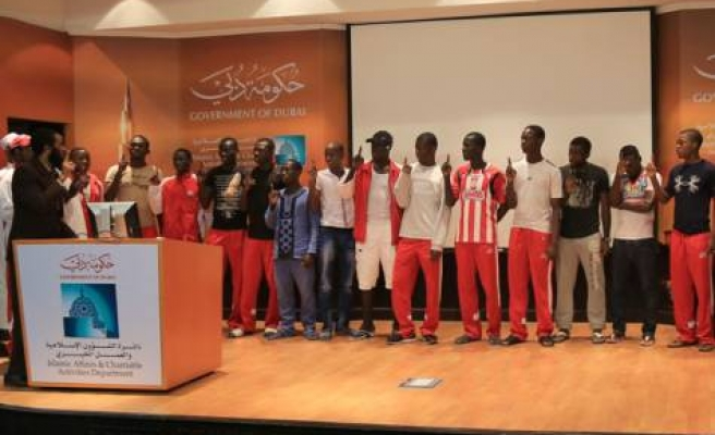 Cameroonian football team accepts Islam in UAE