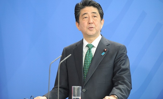 Japan PM Abe sends offering to war shrine