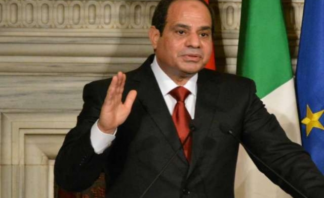 Egypt's Sisi calls for bringing hope to Palestinians