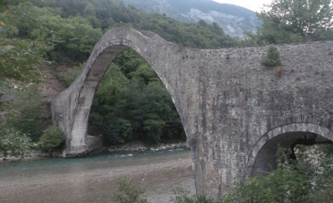 Ottoman bridge in Greece collapses due to rainfall
