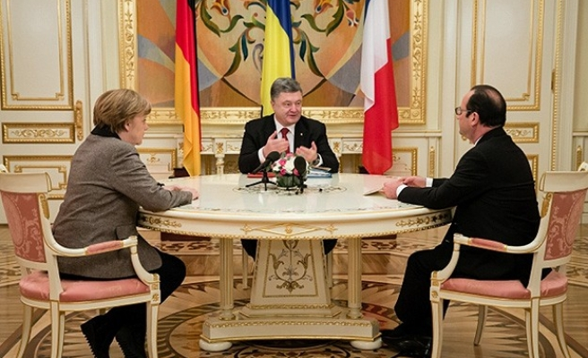German, French leaders head for Moscow to press for Ukraine peace
