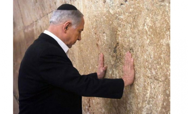 Netanyahu visits Hait al-Buraq after polls