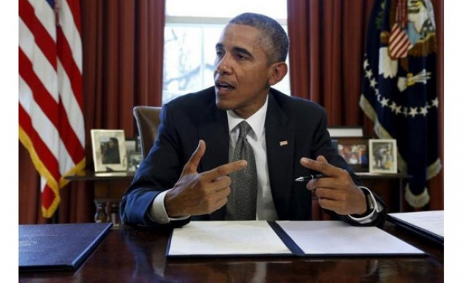 Obama order  to sanction cyber attackers